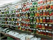 Продаєм насіння овочів,  прянощів та квітів по всій Україні.